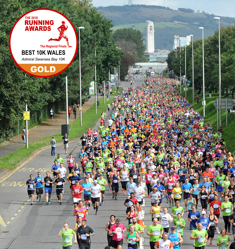 Best 10k in Wales - Swansea Bay