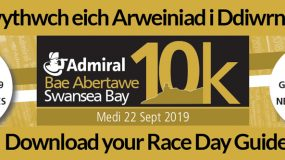 Image of the 2019 Admiral Swansea Bay 10k Race Day guide