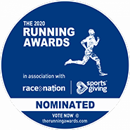 Logo for the Running Awards 2020 nominations